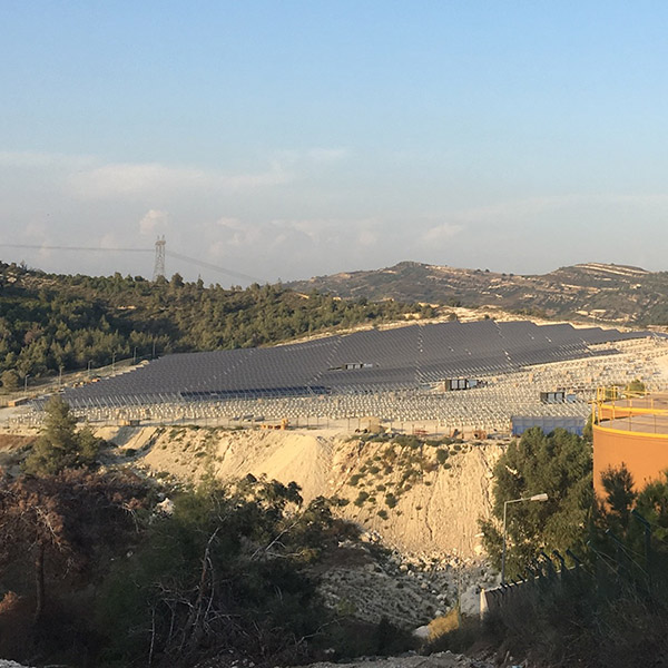 corycos group solar farm mersin industrial zone 5mw