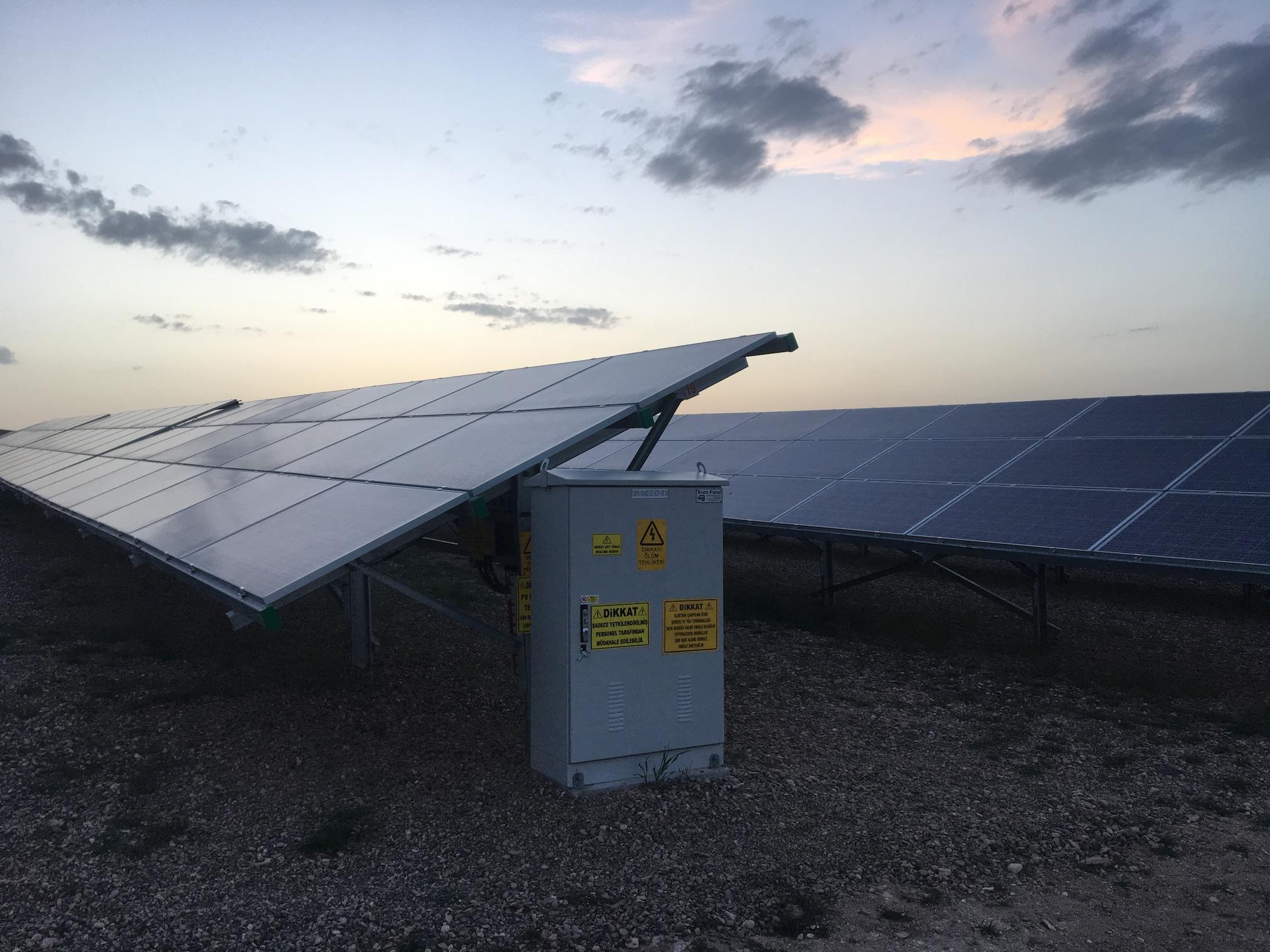 corycos group solar farm avanos