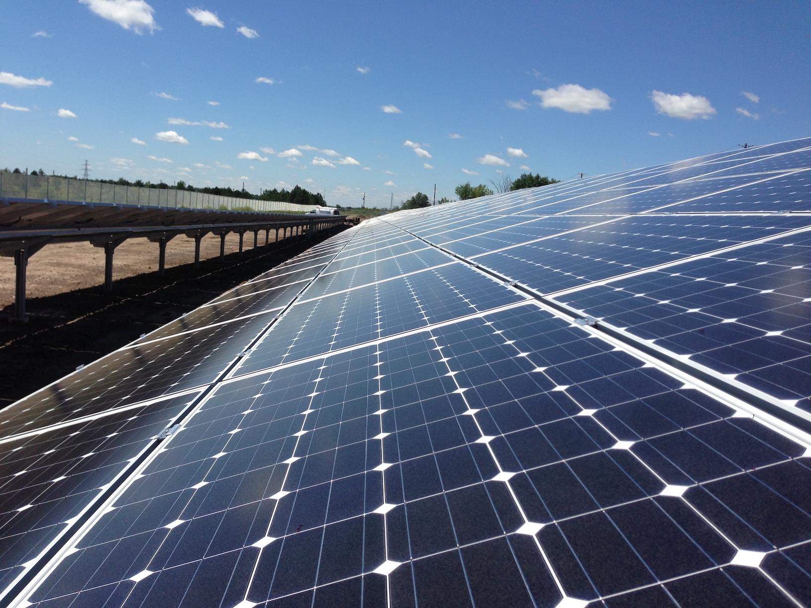corycos group solar farm ontario canada 2