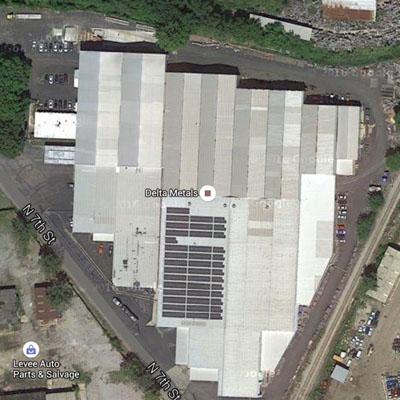 corycos group rooftop solar farm